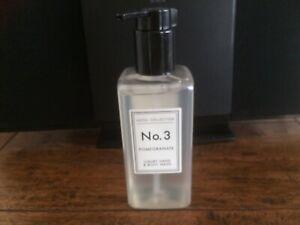 Aldi Hotel Collection Luxury Hand & Body Wash No 3 Pomegranate  250ml New