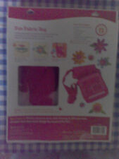Fun Fabric Bag Warm Colors Flowers Buttons New American Girl Crafts