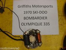 70 71 SKI DOO Bombardier Olympique 335 stator gen generator points plate coil