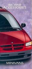 Dodge Minivans MOPAR Accessories Prospekt 1995 car brochure Autoprospekt Auto