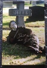 Tyler Mane HALLOWEEN Signed 18x12 Canvas Michael Myers AFTAL