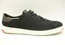 Cole Haan Gray Knit Casual Lace Up Fashion Sneakers Shoes Men's 13 M