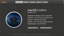 Macbook Pro 13 retina 1425 Late 2012  Early 2013 Full Logic Borad Core i5 / 8GBR