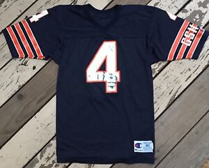 NFL CHICAGO BEARS Football JIM HARBAUGH #4 CHAMPION Jersey size 40