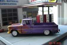 1961 Chevrolet Apache Pickup Truck, Rare Purple Hot Rod Version, 1/43, O Scale