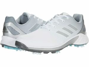 Adidas ZG21  Golf Shoe - Pick Your Size - White/Silver