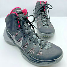 Nike Hyperdunk Men Black Gray Pink Basketball Athletic Shoe Size 10 Pre Owned