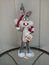 Bugs Bunny Plush Doll Looney Tunes 24in W Tags And Stand Vintage 1994 Applause
