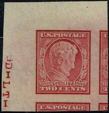 #368 1909 2 CENT LINCOLN IMPERF ISSUE MINT-OG/NH--2009 PSE GRADED:GEM 100