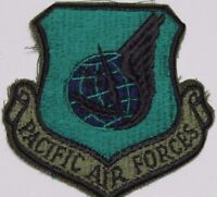 US Air Force Pacific Air Forces Patch PACAF subdued sew on style each P9603