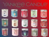 NEW! YANKEE CANDLE SMALL TUMBLER 7OZ FRESH FRAGRANCE HOME ROMANTIC SINGLE WICK