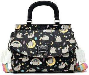 Loungefly x Pusheen Rainbow Unicorn Crossbody Bag