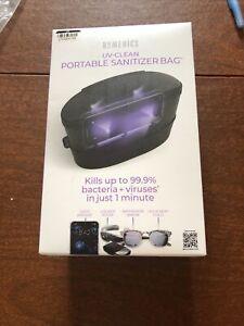 Homedics UV-Clean Sanitizer Bag Kills Bacteria + More , Phones Keys Glasses