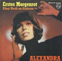 "Alexandra Erstes Morgenrot 7"" Single Mono Vinyl Schallplatte 55071"
