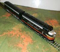 Athearn F7 Heavy Diesel A & B ~ SOUTHERN PACIFIC ~ Black Widow Rd# SP 6326  - HO