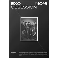 Exo - Obsession (Obsession Ver.)  CD+Photobook+Folded Poster+Postcard+Photocard