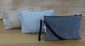 Diamante Evening Wedding Bag Clutch Purse Prom Party Crossbody Bag Shoulder bag