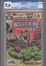 What If? #31 CGC 9.6 1982 Marvel Comics Wolverine had Killed the Hulk