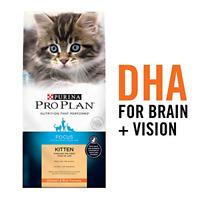 Purina Pro Plan High Protein Dry Kitten Food, FOCUS Chicken & Rice Formula - 3.5