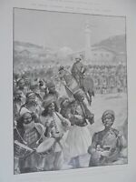 British claim Cyprus in 1878 RC Woodville 1903 print ref AL