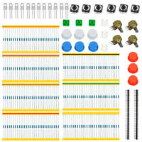 Carbon Film Resistor Rotary Potentiometer Electronic Accessories Kit for Arduino