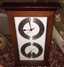 Bulova C3760 Yarmouth Maritime Wall Clock Temperature Thermometer Hygrometer GUC