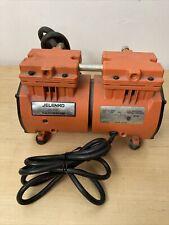 Jelenko Oil Less Vacuum Pump Model 306300