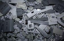 Lego® 1 kg graue Steine Kiloware Kg Sammlung Star Wars Ritter Platten gereinigt