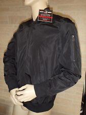 Men's Distortion Comfort & Style Lined Jacket L  Snap Pockets Black Orig. $60.00