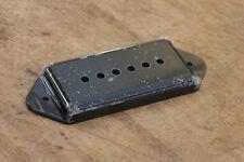 Cubierta Pastilla P90 Negras Pole Spacing 50 mm. Dogear Cover P90 Pickup Black
