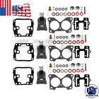 Carburetor Repair Kits For Johnson Evinrude V6 150 155 175 185 200 235 Hp 390055