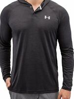 Under Armour Men's Tech Hoodie, Black/Steel Medium NWT