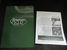 Renaissance 2001 Japan Tour Book PROG Program  Annie Haslam Mickey Simmonds