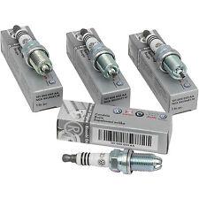 KIT 4 CANDELE ORIGINALI AUDI A2 A3 A4 A6 A8 motori 1.4/1.6/1.8/2.6/2.8 BENZINA