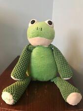 EUC Scentsy Buddy Ribbert The Green Frog No Scent Pak 2010