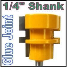"1 pc 1/4"" Shank Reversible Glue Joint Router Bit sct-888"