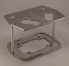 Billet Aluminum Optima Battery Tray Box Group 34/78 POLISHED CUSTOM SMOOTH TOP