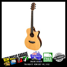 MARTINEZ SOUTHERN STAR SOLID SPRUCE TOP ACOUST-ELEC SMALL BODY CUTAWAY GUITAR