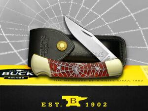 Buck 110 Custom Fire Feathers Corelon Recluse 1/400 ###2 Pocket Knife Knives