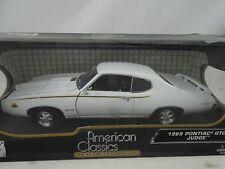 1:18 Motormax - 1969 Pontiac Gto Judge Blanco - Rareza Nuevo / Embalaje Original