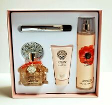 VINCE CAMUTO AMORE 3.4OZ (4PC) GIFT SET FOR WOMEN BRAND NEW