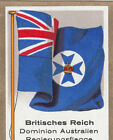 DRAPEAU British Empire britannique Australia Government régime FLAG CARD 30s