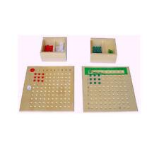 Montessori: Multiplikationsbrett und Divisionsbrett im Set