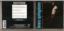 Rare OOP Bruce Springsteen Chimes Of Freedom 4 Track Live Maxi Single CD