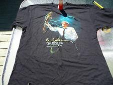 Paul McCartney 2008 400e Quebec Concert T-Shirt XXL + Concert Light Souvenir