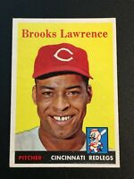 F64450  1958 Topps #374 Brooks Lawrence REDS