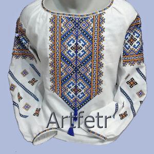 Ukrainian Embroidery Blouse for women. Sorochka Vyshyvanka Tradition Shirt