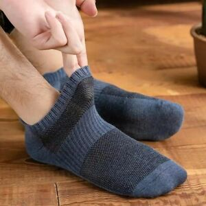 Solid Color Summer Comfortable Hosiery Low-top Socks Boat Socks Men's Socks