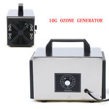 10g/h Ozone Generator Commercial Industrial Air Purifier Equipment Mold Mildew