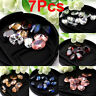 7Pcs Natural Zircon Oval Cut Gems Diamonds Shining Loose Charm Gemstones 10X14mm